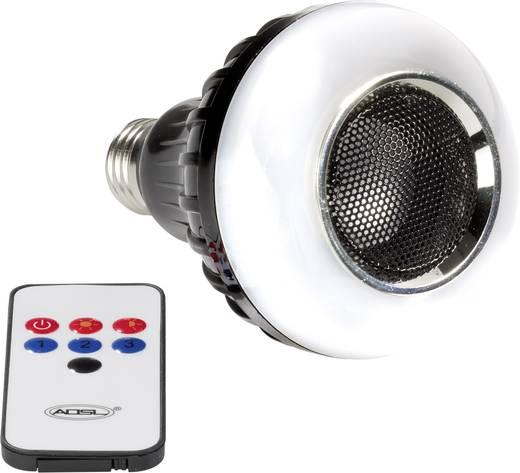 ampoule disco avec haut parleur multicolore v86671 e27 8 w. Black Bedroom Furniture Sets. Home Design Ideas