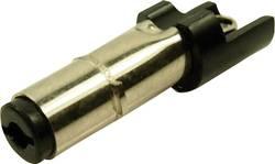 Fiche d'alimentation DC mâle, droit Cliff FC6814775 Ø extérieur: 5.5 mm Ø intérieur: 2.5 mm 1 pièce