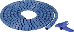 Gaine pour câbles 16 mm (max) HellermannTyton 161-66100 bleu 25 m
