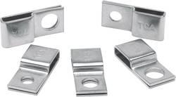 Embase de fixation HellermannTyton 151-00838 métal 1 pc(s)