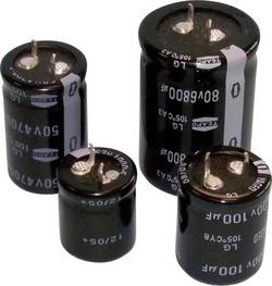 Teapo SLG108M160S1A5R45K Condensateur électrolytique Snap-In