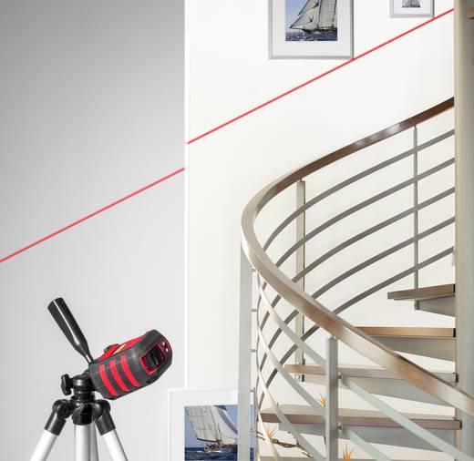 laser en croix avec tr pied autonivelant toolcraft cl8 1326048 port e max 8 m etalonnage d. Black Bedroom Furniture Sets. Home Design Ideas