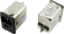 Filtre antiparasite Yunpen 1326740 avec interrupteur, avec connecteur femelle pour appareil 250 V/AC 3 A 1.8 mH (L x l x