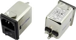 Filtre antiparasite Yunpen 1326741 avec interrupteur, avec connecteur femelle pour appareil 250 V/AC 6 A 0.7 mH (L x l x