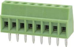 Bornier à vis Degson DG308-2.54-03P-14-00AH 0.82 mm² Nombre total de pôles 3 vert 100 pc(s)