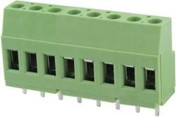 Bornier à vis Degson DG129-5.08-03P-14-00AH 3.31 mm² Nombre total de pôles 3 vert 100 pc(s)