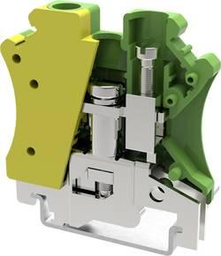 Borne pour conducteur de protection Degson PC6-PE-01P-1Y-00AH 8.2 mm à vis jaune-vert 1 pc(s)