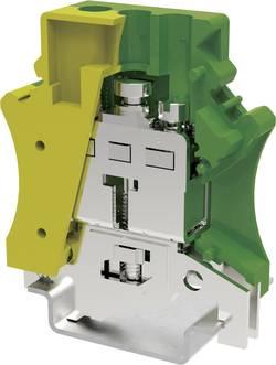 Borne pour conducteur de protection Degson PC16-PE-01P-1Y-00AH 12.2 mm à vis jaune-vert 1 pc(s)