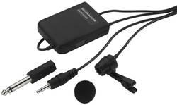 Micro-cravate Microphone vocal Monacor ECM-3005 Type de transmission:filaire
