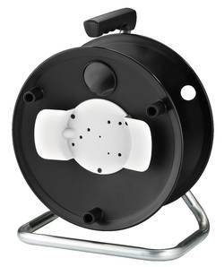 Tambour de câble Monacor MCR-1 noir/gris