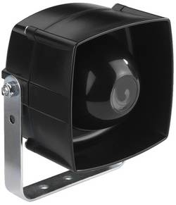 Haut-parleur ELA à chambre de compression Monacor NR-254KS 25 W noir caoutchouc 1 pc(s)