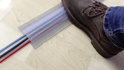 Protège-câbles translucide Vulcascot CHRYSCLEAR TYPE1 26302136 Nombre de canaux: 1 Longueur 3000 mm 1 pièce