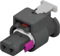 Boîtier pour contacts femelles série MCON 1.2 femelle, droit 2 pôles TE Connectivity 1-1718643-1 1 pc(s)