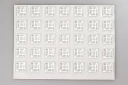 Pied d'appareil TOOLCRAFT 2127C70-C autocollant, carré transparent (Ø x h) 12.7 mm x 3.1 mm 70 pc(s)