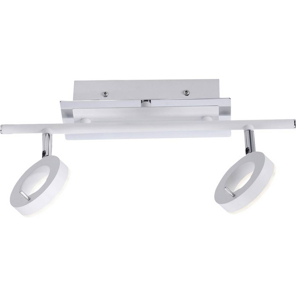 plafonnier led pour salle de bain blanc chaud paul neuhaus 6781 16 sileda 12 w blanc. Black Bedroom Furniture Sets. Home Design Ideas