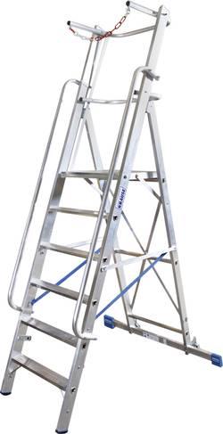 Escabeau aluminium Krause Stabilo® Professional 127532 Hauteur de travail (max.): 4.1 m 23.5 kg 1 pc(s)