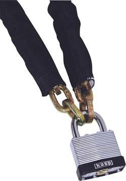 Chaîne de sécurité avec cadenas Kasp K4506130 acier noir 0.85 m