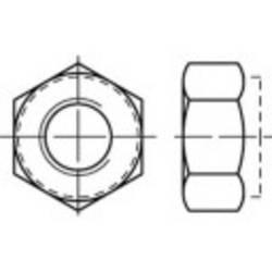 Écrous auto-freinés avec anneau non métallique M6 N/A TOOLCRAFT 1066570 acier inoxydable A4 100 pc(s)