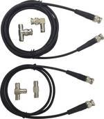 Set de cordons de mesure BNC Testec TT-SET 1200 1 m noir