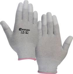 Gant antistatique (ESD) Taille: XS Conrad Components 1364570 avec revêtement sur les doigts Polyamide 1 paire