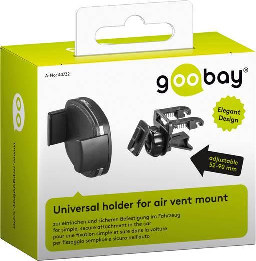 support de t l phone portable pour voiture goobay 40732 pivotant 360 grille de ventilation. Black Bedroom Furniture Sets. Home Design Ideas