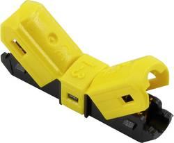 Connectique de jonction 1369113 flexible: -1.5 mm² rigide: -1.5 mm² Nombre total de pôles: 1 jaune 1 pc(s)