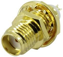 Connecteur SMA, embase femelle, montage vertical 50 Ω 1 pcs.