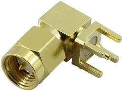 Connecteur SMA embase mâle horizontale pour circuits imprimés Conrad Components 1372244 50 Ω 1 pc(s)