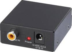 Convertisseur audio [RCA numérique - Toslink] SpeaKa Professional SP-AC