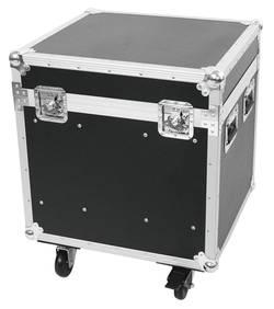 Mallette Roadinger Universal-Tour-Case avec poignée de transport, avec roulettes noir,argent aluminium, bois