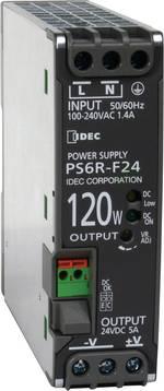 Alimentation rail DIN Idec PS6R-F24 24 V/DC 5 A 120 W 1 x 1 pc(s)