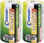 Accu LR14(C) NiMH 1.2 V Conrad energy 1377657 4800 mAh 2 pc(s)