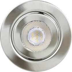 Spot LED encastrable LED intégrée TLT International Opia LT1153537 blanc chaud 12 W nickel (brossé) set de 3