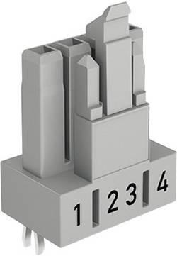 Connecteur d'alimentation WAGO 890-804 embase femelle, verticale Nbr total de pôles: 4 16 A noir 100 pc(s)
