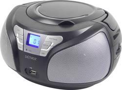 Radio-CD FM Denver TCU-206 noir