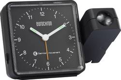Réveil à projection analogique radiopiloté(e) Eurochron EFP 505 noir