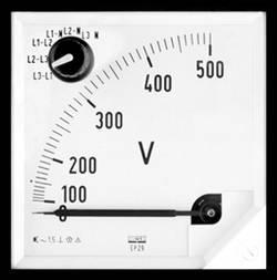 Voltmètre Lumel EP27 500V 500 V/AC Ferromagnétique