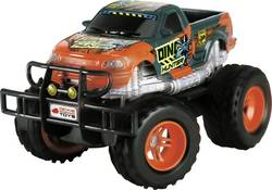 Monstertruck électrique Dickie Toys Dino Hunter brushed propulsion arrière prêt à rouler (RtR) 1:24