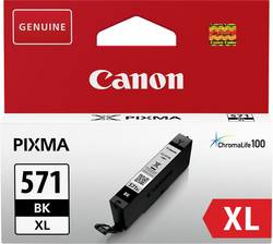Cartouche d'encre d'origine Canon CLI-571BK XL