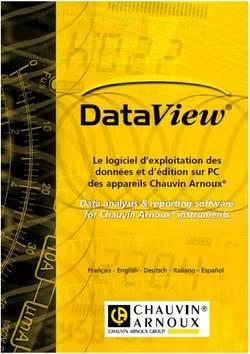 Logiciel Data View Chauvin Arnoux P01102095