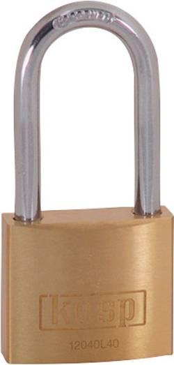 Cadenas Kasp K12040L40D or-jaune avec serrure à clé