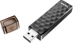Mémoire supplémentaire USB pour smartphone/tablette SanDisk Connect™ Wireless noir 128 Go USB 2.0, WiFi