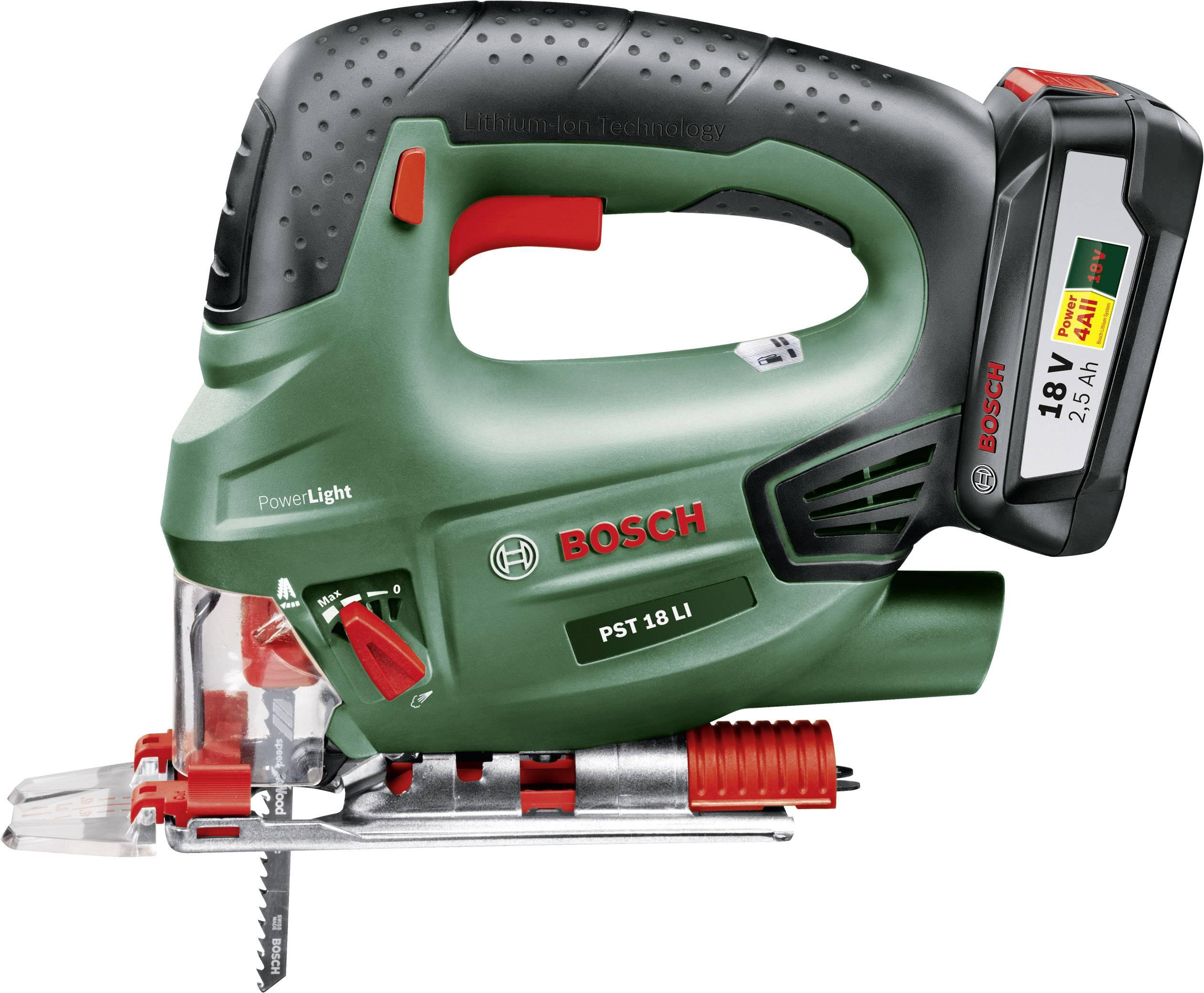 416e537d27019 Bosch Home and Garden PST 18 LI Scie sauteuse pendulaire sans fil +  batterie