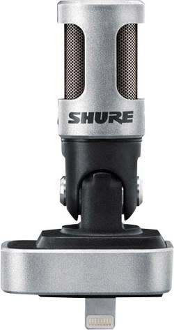 Microphone pour téléphone portable Shure MV88 Type de transmission:direct