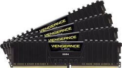 Kit de mémoire vive pour PC Corsair Vengeance® LPX CMK16GX4M4A2133C13 16 Go RAM DDR4 2133 MHz CL13 15-15-28