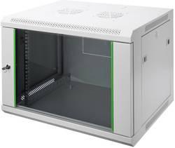 """Digitus Professional DN-19 12-U-EC Armoire baie de brassage 19"""" (l x h x p) 600 x 638 x 450 mm 12 UH gris-clair (RAl 703"""