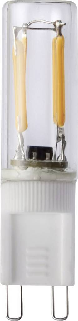 Segula LED G9 à broches 1.5 W=12 W blanc chaud