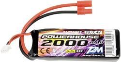 Batterie d'accumulateurs (LiPo) 7.4 V 2000 mAh T2M T1320002 25 C stick G3,5
