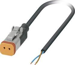 Câble pour capteurs/actionneurs, extrémité libre, connecteur femelle droit DT06-2S Pôle: 2 Phoenix Contact SAC-2P- 5,0-P