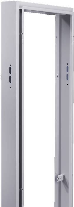 Capot de disjoncteur Rittal 8950.840 Tôle d'acier gris clair (RAL 7035) (L x l x h) 400 x 125 x 1800 mm